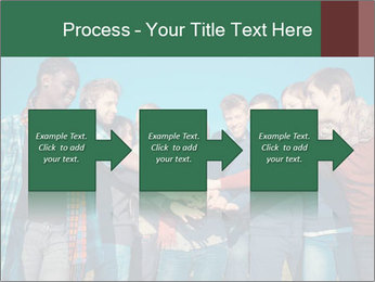 Happy College Students PowerPoint Templates - Slide 88