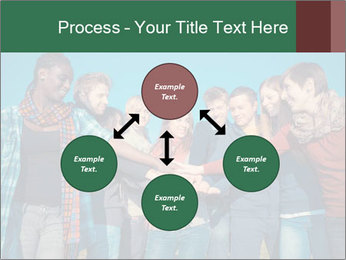 Happy College Students PowerPoint Templates - Slide 91