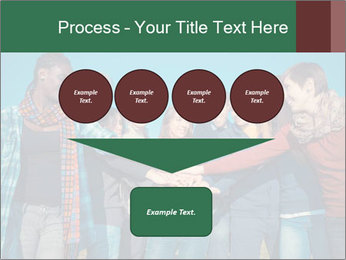 Happy College Students PowerPoint Templates - Slide 93