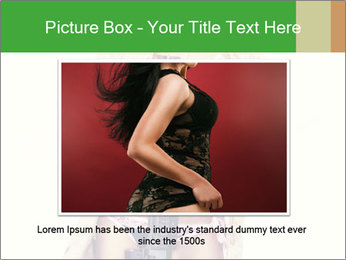 Sexy blond PowerPoint Template - Slide 15