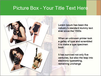 Sexy blond PowerPoint Template - Slide 23