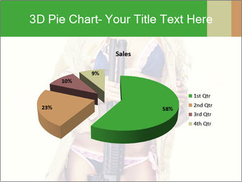Sexy blond PowerPoint Template - Slide 35