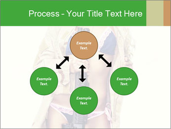 Sexy blond PowerPoint Template - Slide 91