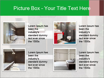 Modern bathroom PowerPoint Templates - Slide 14