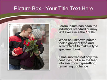 A man dating PowerPoint Template - Slide 13