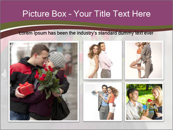 A man dating PowerPoint Template - Slide 19