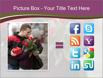 A man dating PowerPoint Template - Slide 21