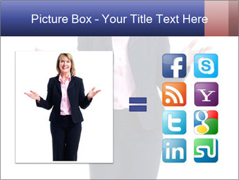 Executive business woman PowerPoint Template - Slide 21