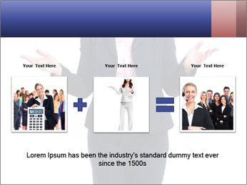 Executive business woman PowerPoint Template - Slide 22