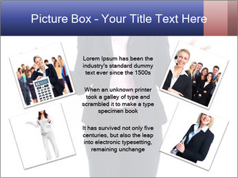 Executive business woman PowerPoint Template - Slide 24