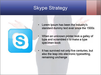 Executive business woman PowerPoint Template - Slide 8