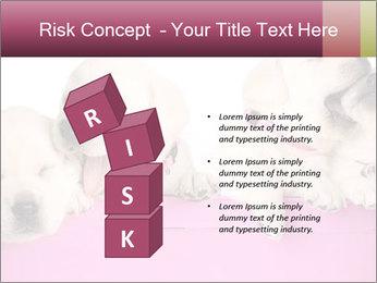 Labrador retriever puppies PowerPoint Template - Slide 81