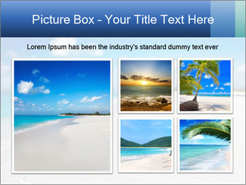 The white sands of secluded PowerPoint Template - Slide 19