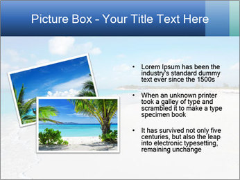 The white sands of secluded PowerPoint Template - Slide 20