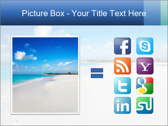 The white sands of secluded PowerPoint Template - Slide 21