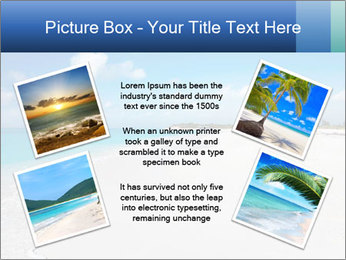 The white sands of secluded PowerPoint Template - Slide 24