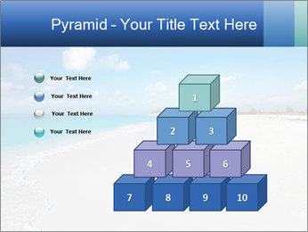The white sands of secluded PowerPoint Template - Slide 31