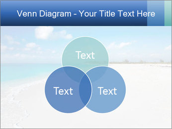 The white sands of secluded PowerPoint Template - Slide 33