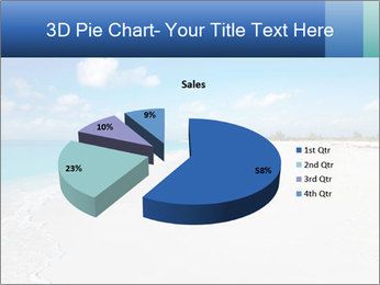 The white sands of secluded PowerPoint Template - Slide 35
