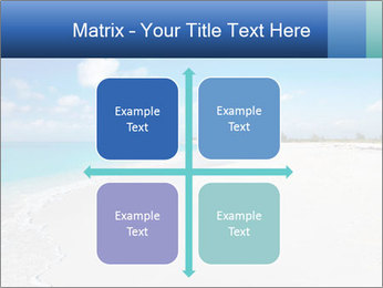The white sands of secluded PowerPoint Template - Slide 37