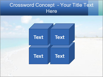 The white sands of secluded PowerPoint Template - Slide 39