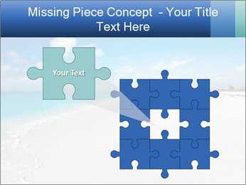 The white sands of secluded PowerPoint Template - Slide 45