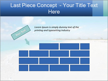 The white sands of secluded PowerPoint Template - Slide 46