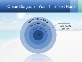 The white sands of secluded PowerPoint Template - Slide 61
