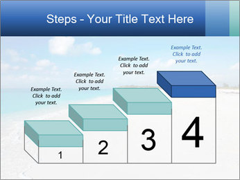 The white sands of secluded PowerPoint Template - Slide 64