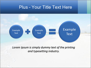 The white sands of secluded PowerPoint Template - Slide 75