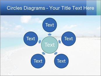 The white sands of secluded PowerPoint Template - Slide 78