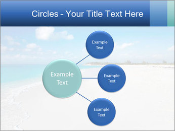 The white sands of secluded PowerPoint Template - Slide 79