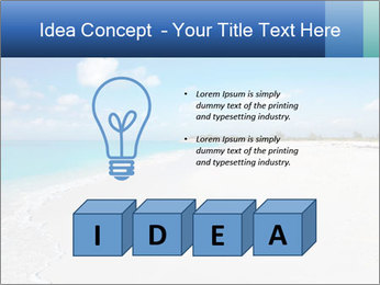 The white sands of secluded PowerPoint Template - Slide 80