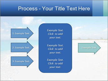 The white sands of secluded PowerPoint Template - Slide 85
