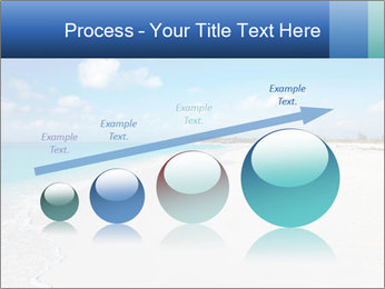 The white sands of secluded PowerPoint Template - Slide 87