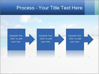 The white sands of secluded PowerPoint Template - Slide 88