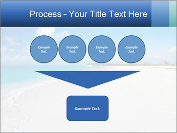The white sands of secluded PowerPoint Template - Slide 93