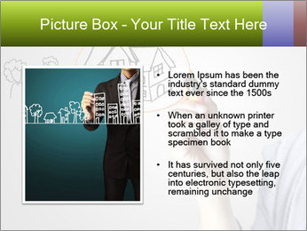 Hand drawing house PowerPoint Template - Slide 13
