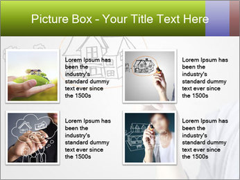 Hand drawing house PowerPoint Template - Slide 14