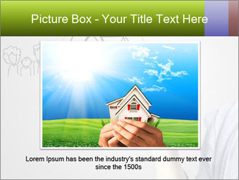 Hand drawing house PowerPoint Template - Slide 15