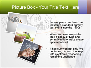 Hand drawing house PowerPoint Template - Slide 17