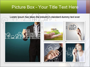 Hand drawing house PowerPoint Template - Slide 19