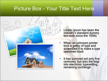 Hand drawing house PowerPoint Template - Slide 20