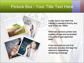 Hand drawing house PowerPoint Template - Slide 23