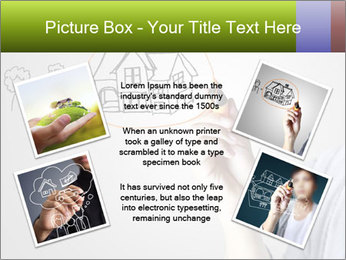 Hand drawing house PowerPoint Template - Slide 24