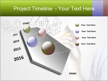 Hand drawing house PowerPoint Template - Slide 26