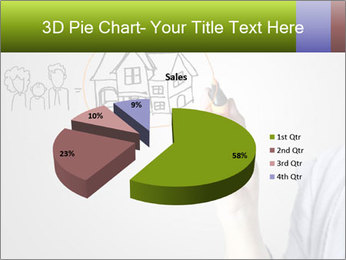 Hand drawing house PowerPoint Template - Slide 35