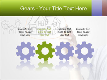 Hand drawing house PowerPoint Template - Slide 48