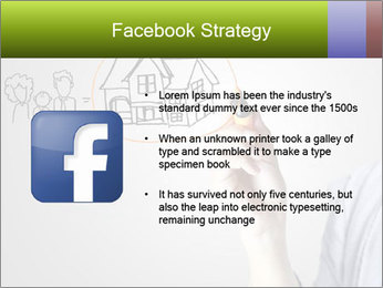 Hand drawing house PowerPoint Template - Slide 6