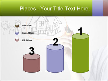 Hand drawing house PowerPoint Template - Slide 65